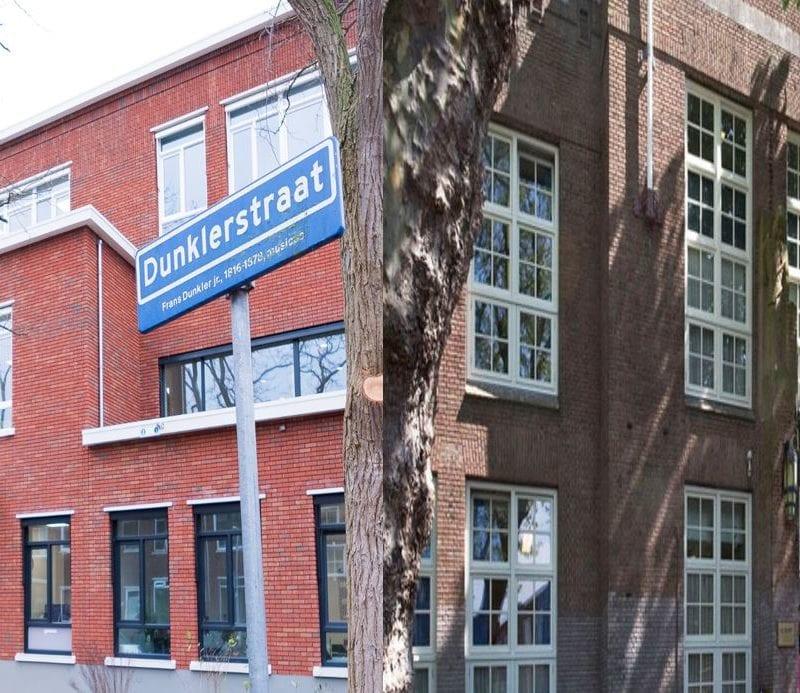 Twee schoolgebouwen